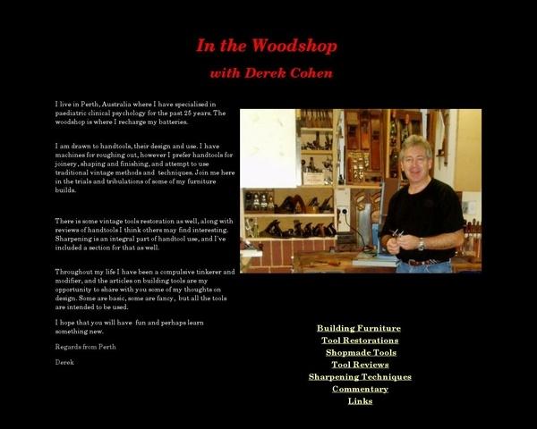 In The Woodshop une mine de renseignements sur les rabots et les planches à recaler