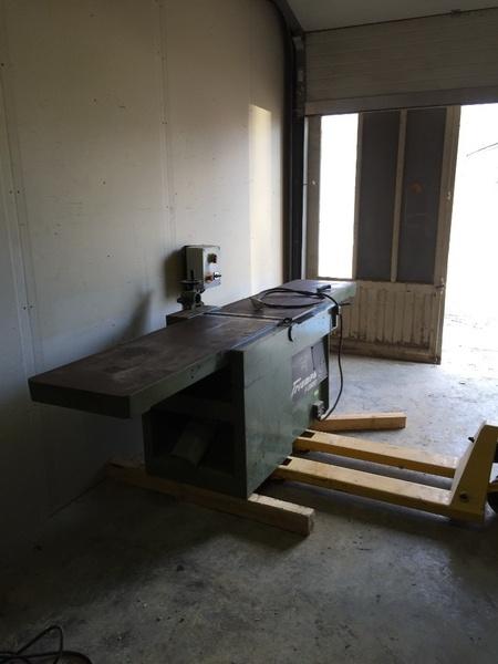 Mon atelier avec mes nouvelle màchine