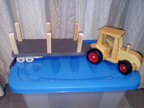 Remorque pour tracteur