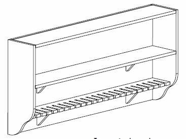 Rack de rangement serre-Joints
