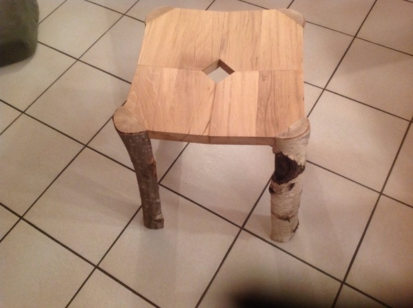 Tabouret forestier assise XL