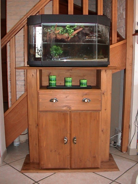 Meuble d'Aquarium