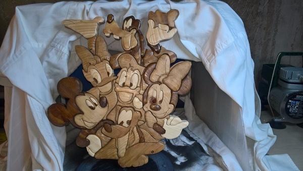 Les amis de mickey par titie3325 sur l 39 air du bois - Amis de mickey ...