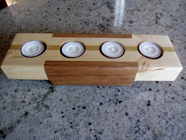 bougeoir pour bougies chauffe plat par schgreg sur l 39 air. Black Bedroom Furniture Sets. Home Design Ideas