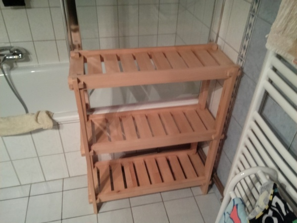 console salle de bain par ecto1 sur l 39 air du bois. Black Bedroom Furniture Sets. Home Design Ideas
