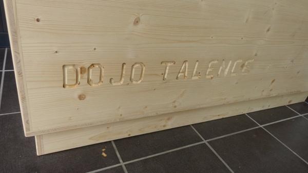 Meuble pour le dojo de Talence