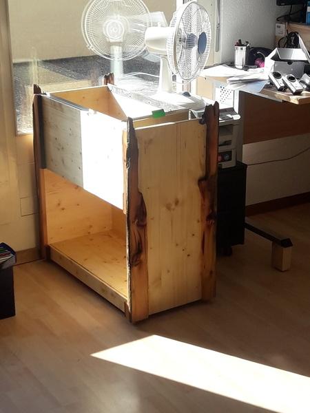 meuble pour dossier suspendu et classeur par totof sur l 39 air du bois. Black Bedroom Furniture Sets. Home Design Ideas
