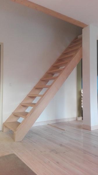 escalier en ch ne par dependancesbois sur l 39 air du bois. Black Bedroom Furniture Sets. Home Design Ideas