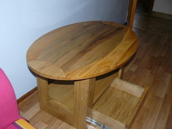 "Table de salon ""rugbyman"""