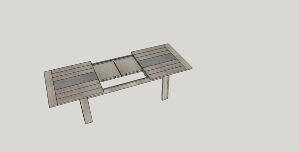 [Plan] Table salon par tacoule38 sur LAir du Bois -> Table Salon Plan