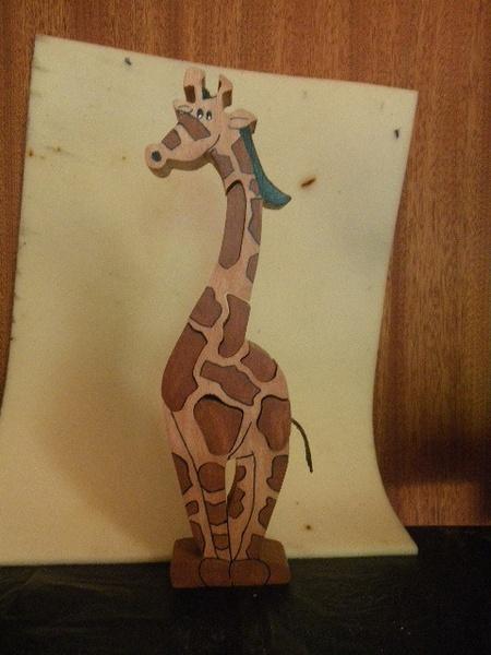 Girafe puzzle