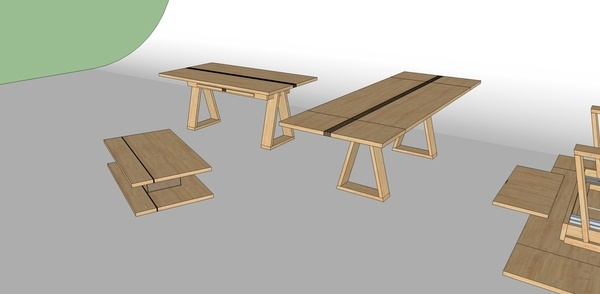 Duo de tables