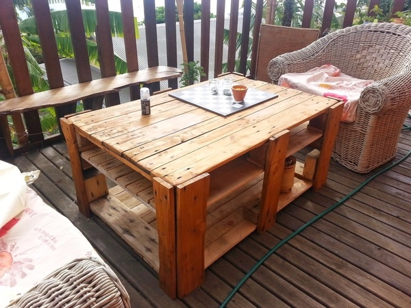 salon de jardin table basse