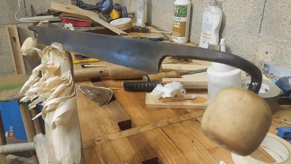 Rénovation rapide d'une plane de charron