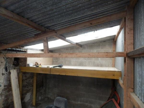 Mezzanines pour garage et atelier