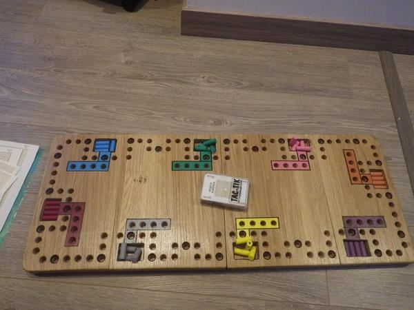 Tac tik le jeu pour 8 personnes par groliviande sur l 39 air du bois - Comment fabriquer le jeu tac tik ...