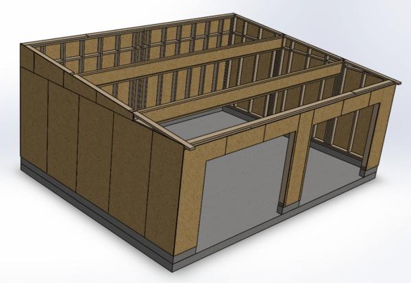 Mon atelier Ossature bois