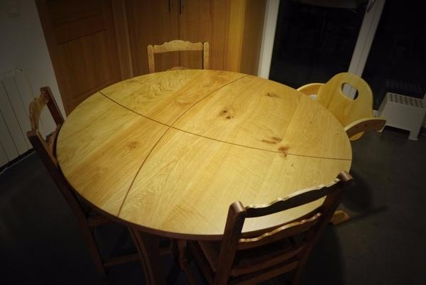Table vraiment très ronde