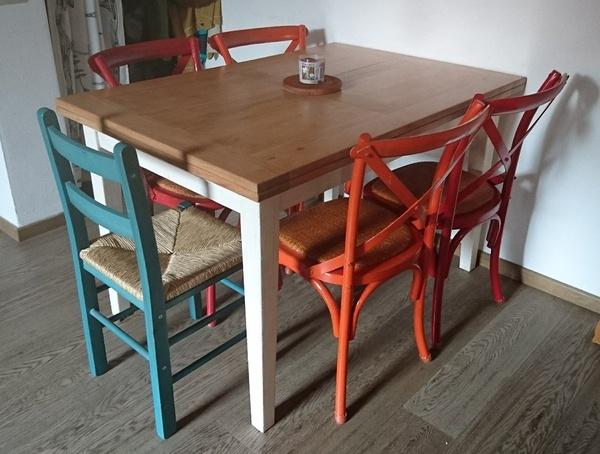 Table à rallonges italiennes