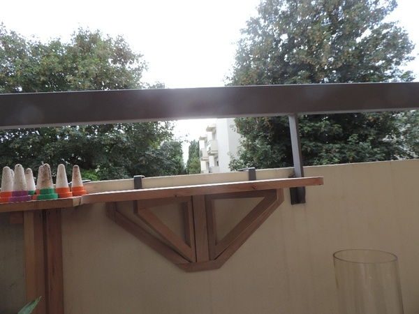 Support barbecue pour balcon