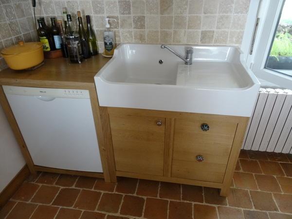 meuble de cuisine sous vier par jeje44 sur l 39 air du bois. Black Bedroom Furniture Sets. Home Design Ideas