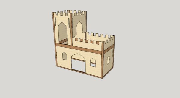 Lit chateau