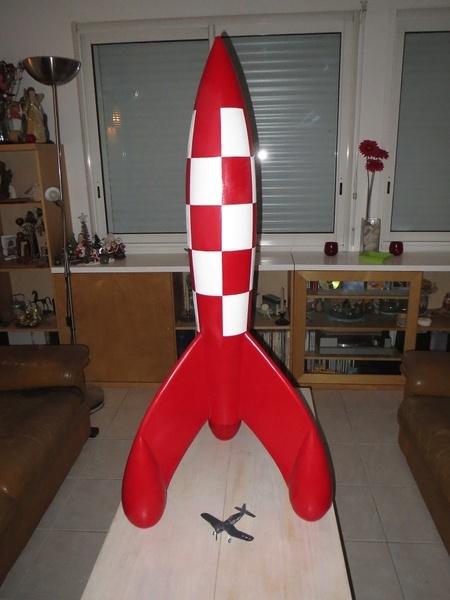 La fusée dont il est interdit de faire commerce sans droits d'auteur exorbitants.