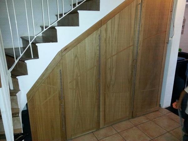 am nagement sous escalier par toutenbois sur l 39 air du bois. Black Bedroom Furniture Sets. Home Design Ideas