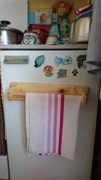S che torchon pour le frigo par gibetb sur l 39 air du bois for Seche torchon cuisine
