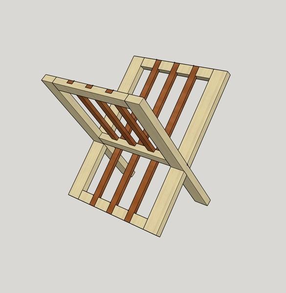 plan porte document par laurentd sur l 39 air du bois. Black Bedroom Furniture Sets. Home Design Ideas