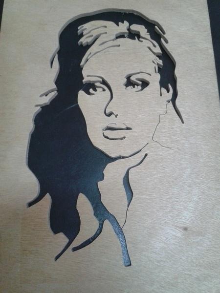 Adèle portrait