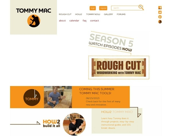 Site de Tommy Mac Donald, Rough Cut