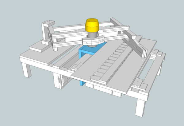 Plan Table Pour Pantographe De D Fonceuse Par Zeloko Sur L 39 Air Du Bois