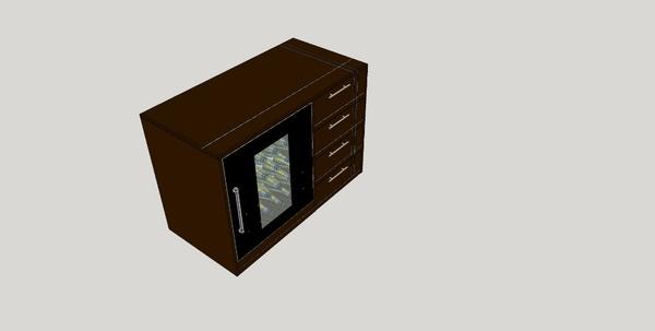 Plan meuble cave vin par tacoule38 sur l 39 air du bois for Cave a vin meuble