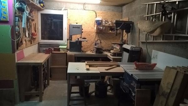 Mon tout petit atelier