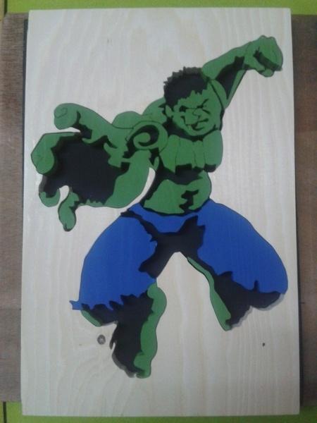 Le saut de hulk