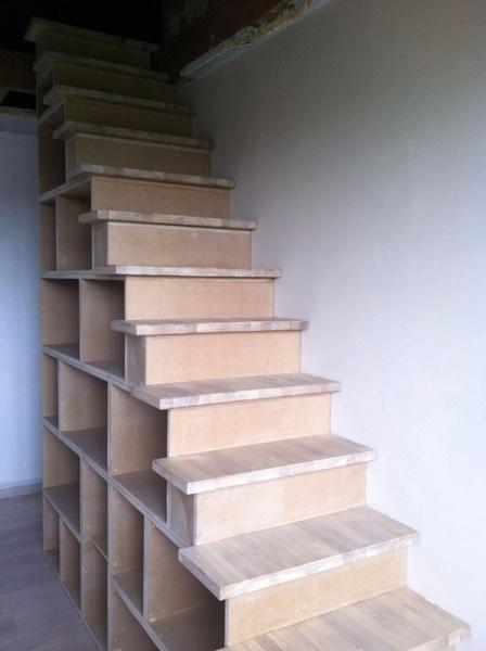 Escalier-bibliothèque