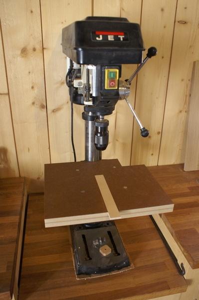 Table pour perceuse à colonne (sans ses accessoires)