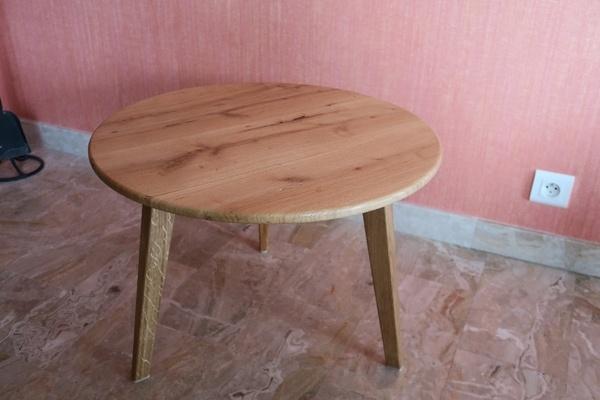 Petite table basse ronde