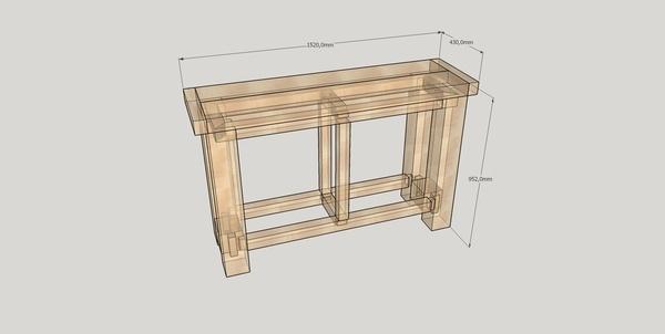 plan etabli de balcon par gboidin sur l 39 air du bois. Black Bedroom Furniture Sets. Home Design Ideas