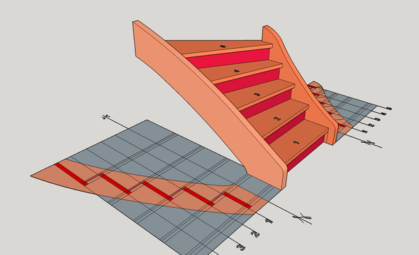 Escalier exercice 1
