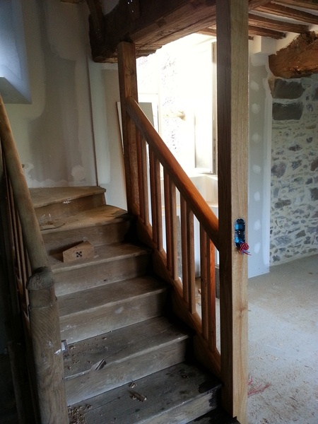Renovation d'un escalier