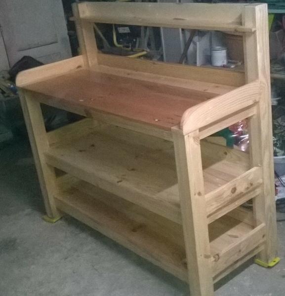 table de rempotage par bougnasse sur l 39 air du bois. Black Bedroom Furniture Sets. Home Design Ideas