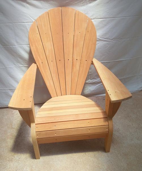 fauteuil adirondack par mdsvdm sur l 39 air du bois. Black Bedroom Furniture Sets. Home Design Ideas