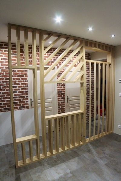 cloison ajour e par romaindu19 sur l 39 air du bois. Black Bedroom Furniture Sets. Home Design Ideas