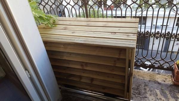 cache pompe chaleur par zan sur l 39 air du bois. Black Bedroom Furniture Sets. Home Design Ideas