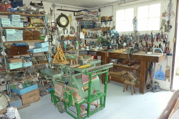 Petit atelier en sous sol