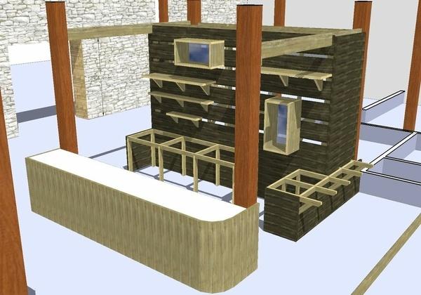 Création d'un bar dans une ancienne grange - maj1