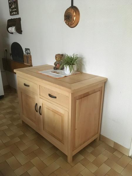 bahut de cuisine par laikeen sur l 39 air du bois. Black Bedroom Furniture Sets. Home Design Ideas
