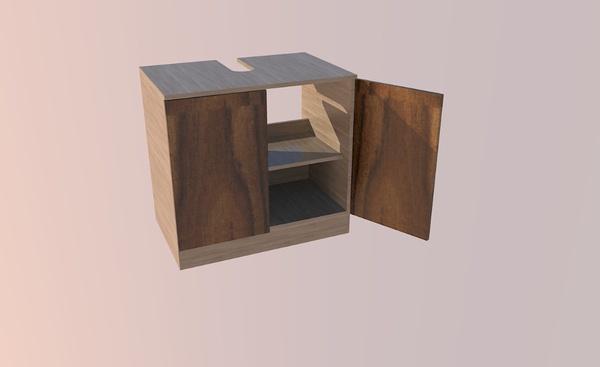 Meuble de salle de Bain - Sous Lavabo